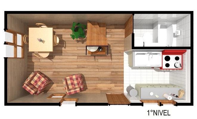 Casas de madera prefabricadas casa prefabricadas segundo piso for Casas segundo piso de madera