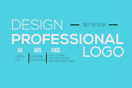 I will create a professional logo for you