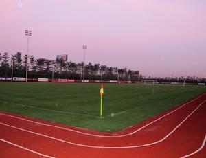 Guangzhou Evergrand inaugura Centro de Treinamento conca (Foto: Lydia Gismondi / Globoesporte.com)