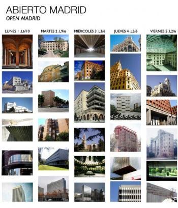 IX SEMANA DE LA ARQUITECTURA 2012 de Madrid