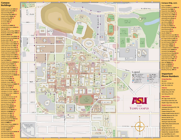 Asu Map Pdf Asu Map Pdf | Color 2018