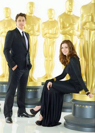 James Franco e Anne Hathaway serão os apresentadores do Oscar 2011