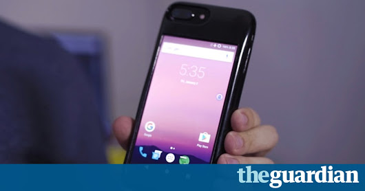 iPhone case that is also an Android phone raises $100,000 on Kickstarter | Technology | The Guardian