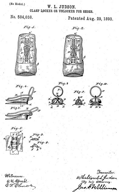 the invention of the zipper and advancements since 1893 However, his 1893 patent did not use the word zipper  the history of the zipper thoughtco, mar 9, 2018, thoughtcocom/history-of-the-zipper-4066245.