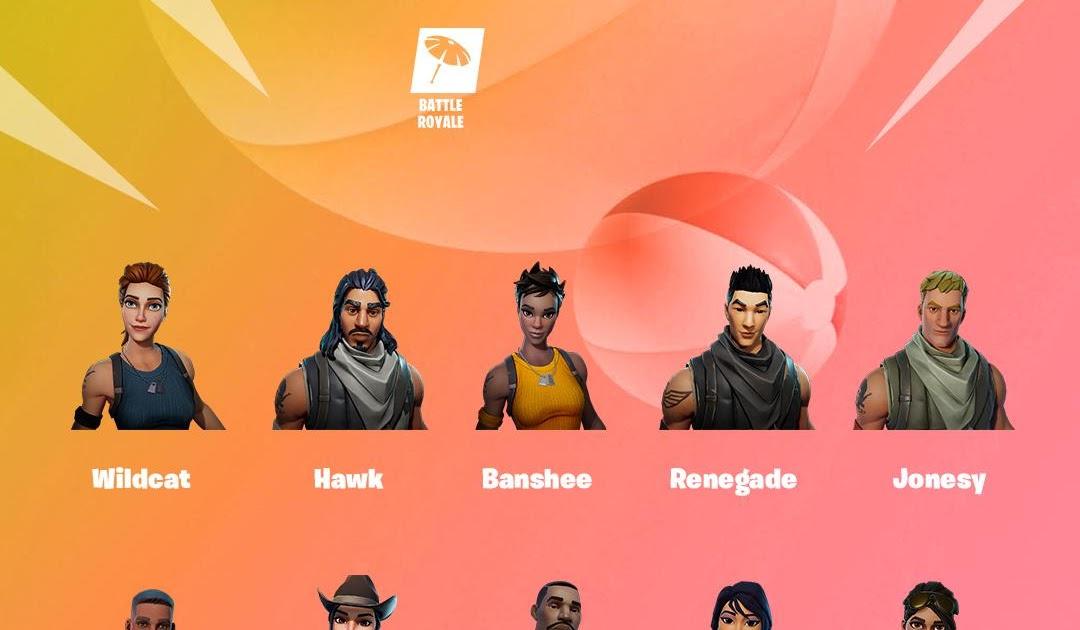 Fortnite Characters Names - coba coba