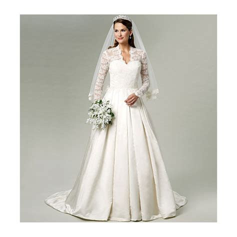 Wedding Dress Bridal Gown Pattern UNCUT Butterick By
