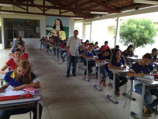 Olimpíada de Astronomia na Escola Santa Tereza