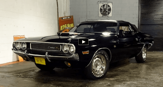 Triple Black 1970 Dodge Challenger RT Convertible | HOT CARS