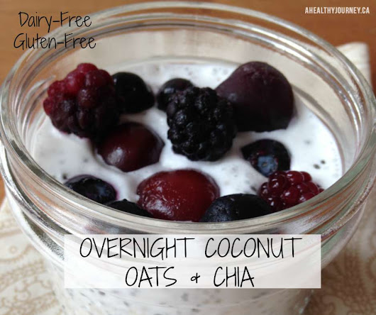 Overnight Coconut, Oats and Chia