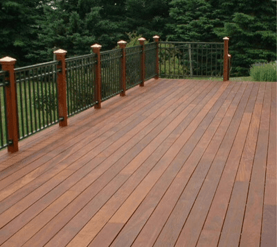 Wooden Decking - Simon Bowler