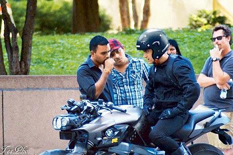 Autotrack Aamir Khan Ride Bmw K 1300 R Bike In Dhoom 3