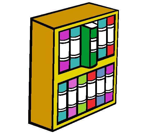 Dibujo De Libreria Pintado Por Iviimagenes En Dibujos Net El Dia 05