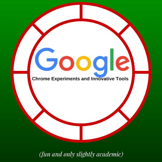 Chrome Experiments and Innovative Tools by rafranz davis