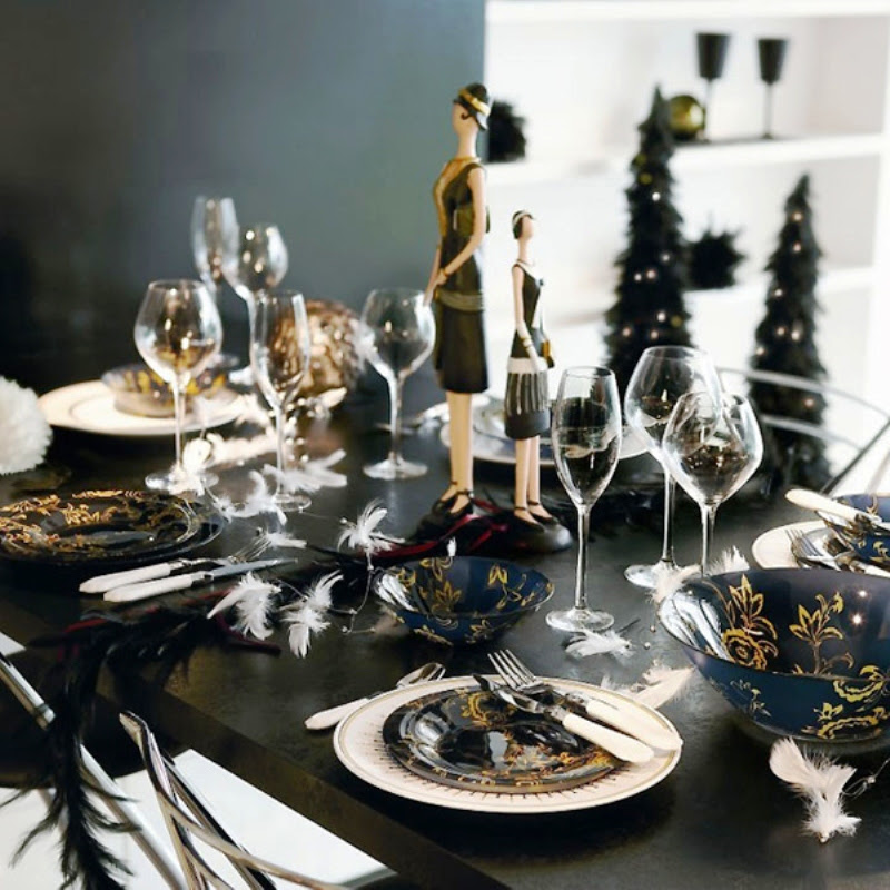 8 Table Setting Ideas For New Years Eve Daily Dream Decor