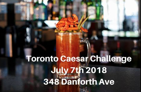 Toronto Caesar Challenge, July 7th, 2018 in support of HOW, Hygiene On Wheels.