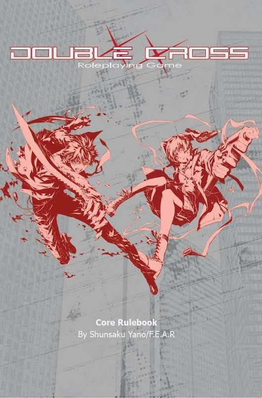 Double Cross Roleplaying Game Core Rulebook - Ver. Blue Amusement | DriveThruRPG.com