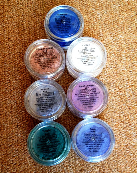 Madison Street Beauty - Mineral Eye Shadow