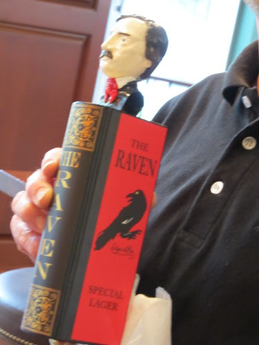 The Raven tap handle
