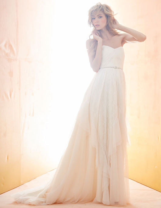 Bridal Gowns, Wedding Dresses by Blush - Spring 2014 Collection - JLM Couture
