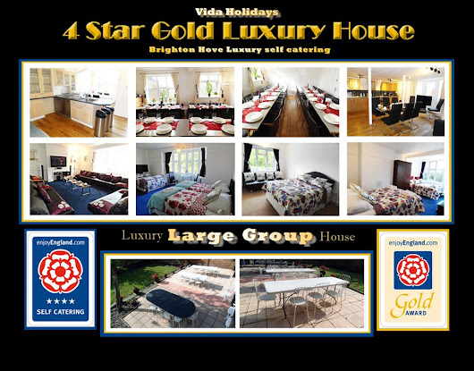 4 STAR GROUP BREAKS BRIGHTON: Luxury 4 Star Gold LARGE Group House Breaks Holidays ...