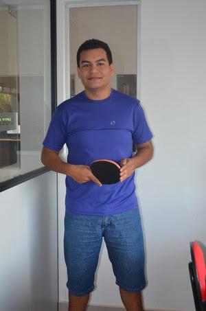 Paulo Victor, tênis de mesa (Foto: Quésia Melo)