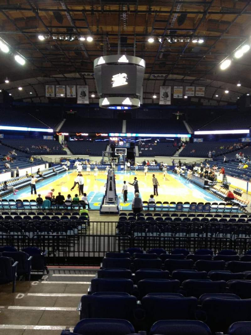 Allstate Arena Section 114 Home Of Depaul Blue Demons