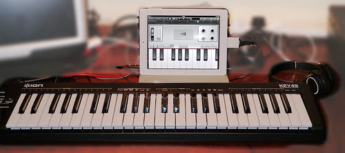 *ION KEY49 Keyboard with iPad