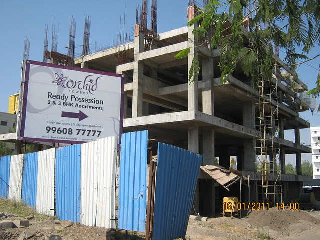 Proposed commercial complex, on the 100 feet Main Baner Road, of Orchid Towers, Ready Possession 2 BHK, 2.5 BHK & 3 BHK Flats on Baner Road, Pune 411 045
