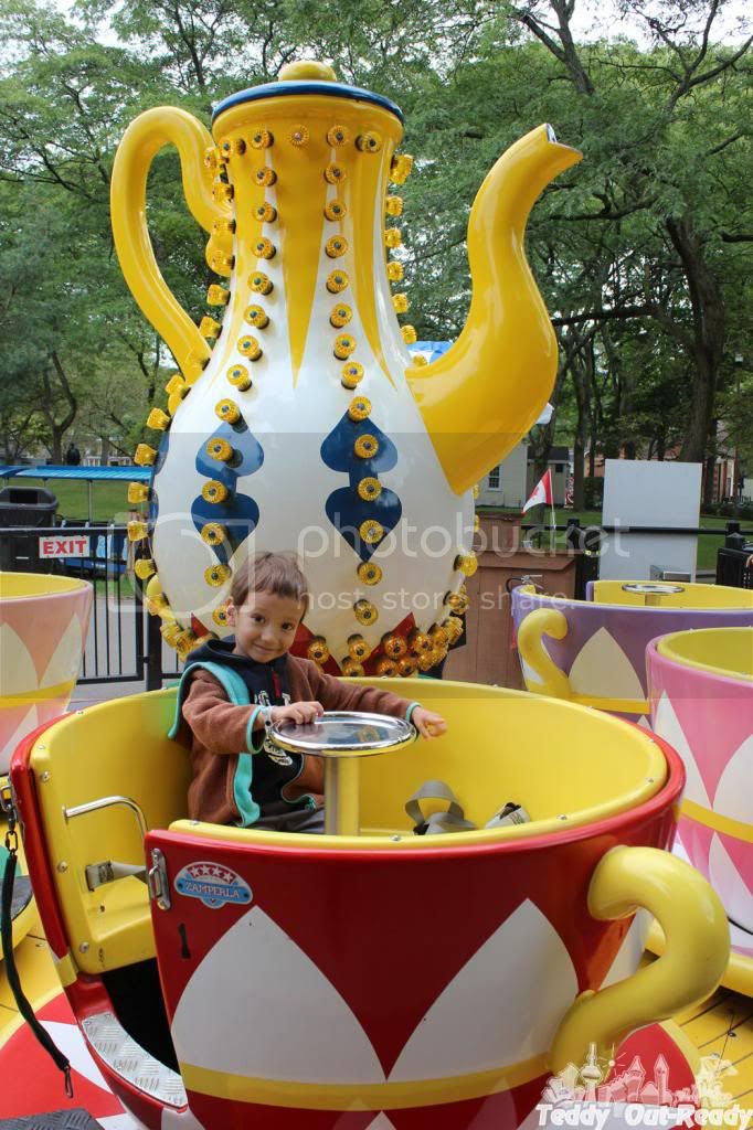 TWIRLING TEA CUPS