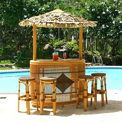 Chairs Best Deals Tiki Thatched Roof Stoolsoutdoor Patio