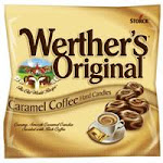 Werthers Original Hard Candy Bags, Caramel Coffee By Storck - 5.5 Oz, 12 Ea
