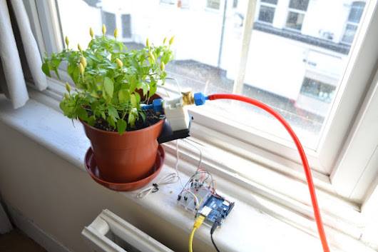 Arduino Automated Plant Watering System