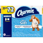 Charmin Ultra Soft Toilet Paper, 36 Double Rolls, White