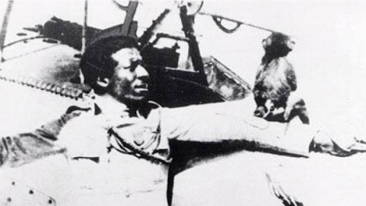 Eugene Jacques Bullard was the first African American military pilot in World War I.