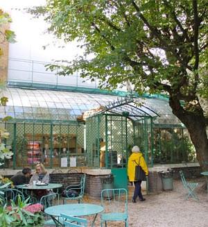 Casa de chá do Museu La Vie Romantique (Foto: Ana Carolina Peliz/ G1)