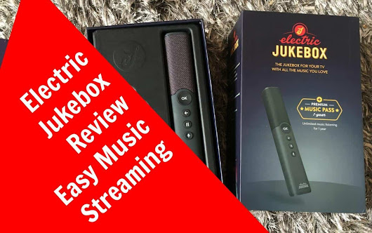 #Win an Electric Jukebox worth £169 for Easy Music Streaming #competition #giveaway - Zena's Suitcase