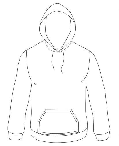 hoodie sketch  paintingvalleycom explore collection