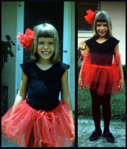 Girl as Sugar Plum Fairy Double