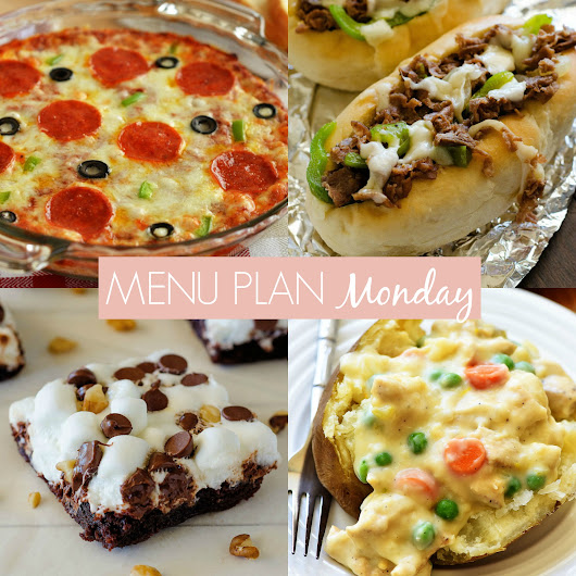 Menu Plan Monday #256 - Life In The Lofthouse