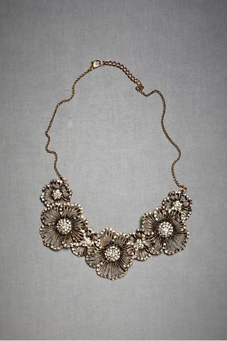 Hinted Phlox Necklace