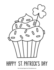 st patrick's day coloring pages  printable coloring