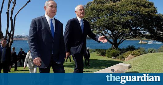 Turnbull has clearly chosen: Australia stands alone on Israel | George Browning | Opinion | The Guardian