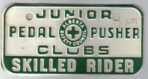 ALBERTA PEDDLE PUSHERS CLUB c.1964