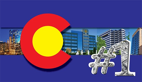 Colorado's Economy Ranked # 1 - Time to Find Denver Office Space?