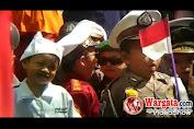 Meriahkan HUT RI ke-74, Anak TK Ra Umdi Al Ihsan Antusias Ikuti Pawai Karnaval