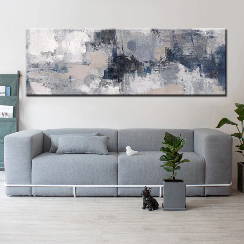 Modern Abstract Paintings Wide Format Canvas Fine Art ...