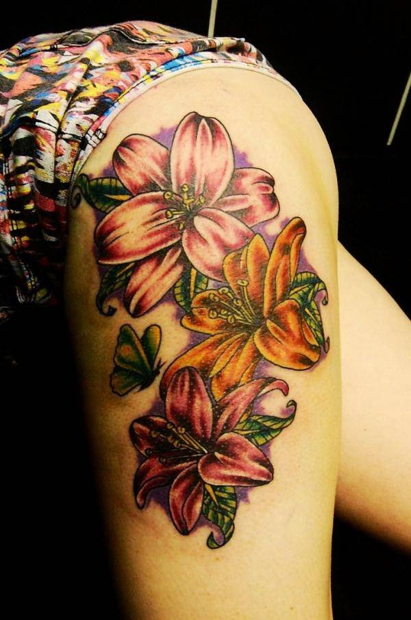 Awesome Lily Tattoo That You Cant Even Refuse To Have