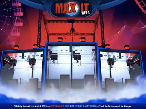 Pepsi Max It - BETA screenshot