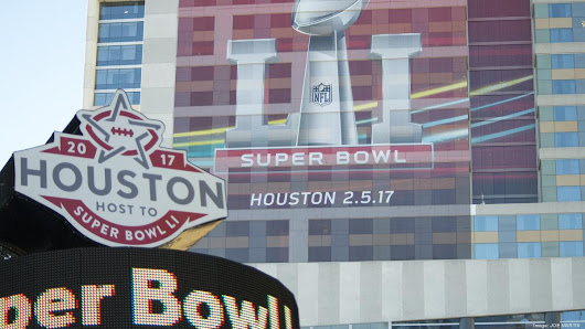 Map: Where to eat, hang out and get autographs at 2017 Super Bowl in Houston - San Antonio Business Journal