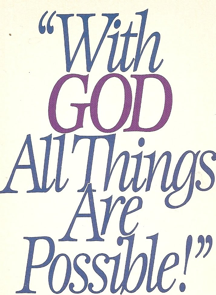 With God All Things Are Possible Bible Quotes Quotespicturescom